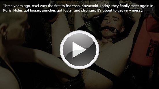 Krashed - gay porn fisting trailer - Axel Abysse Network