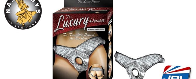 Nasstoys of New York Luxury Harness Standard Edition-Silver is Enticing-Sex-Toy-Tech