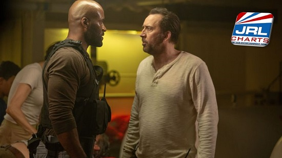 Primal (2019) LaMonica Garrett and Nicolas Cage - Lionsgate