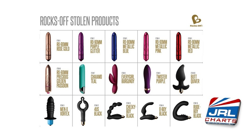 sex toys Rocks-Off Offer Reward for Info Following Theft of Sex Toys