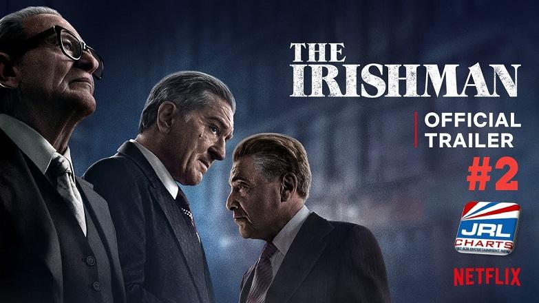 THE IRISHMAN Trailer 2 - Robert De Niro, Al Pacino Is Here