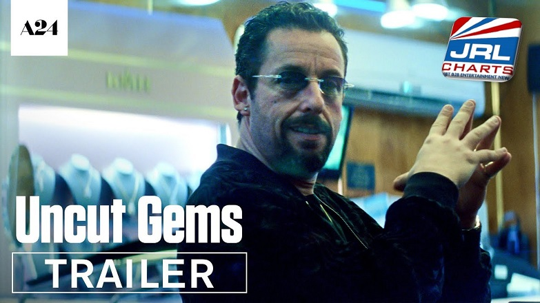 movie trailers - Uncut Gems Trailer - Adam Sandler in Iconic Dramatic Role