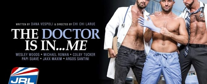 gay porn - Wesley Woods Stars in Chi Chi LaRue's The Doctor Is In...Me-Colby-Tucker-Michael-Roman