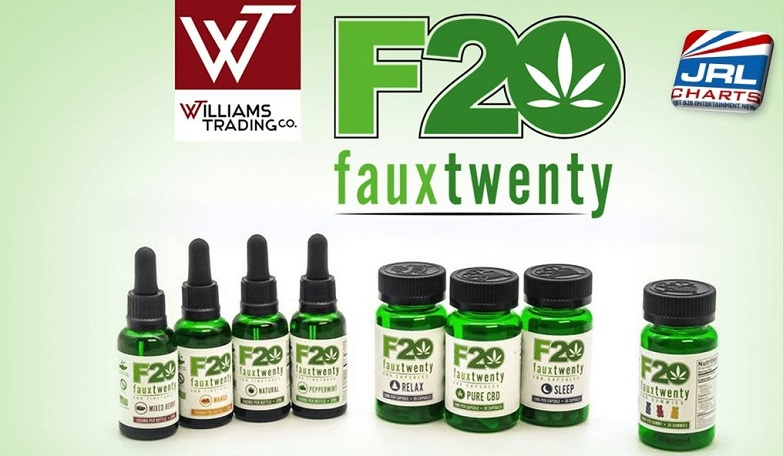 Williams Trading Adds Faux 20 CBD High Potency Products