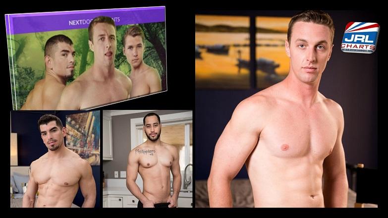 Gay News - Gay Adult News - Behind You DVD - Rickey Ridge, David Rose NextDoorRAW