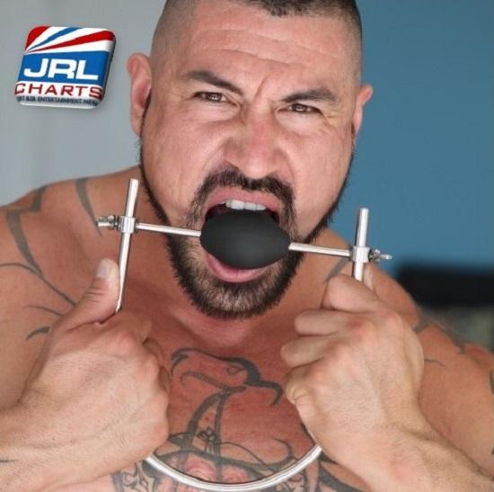 Brace Gag 2.0 by 665 Leather-Gay-BDSM-Bondage