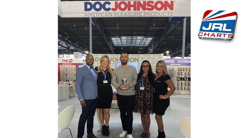male sex toys - Doc Johnson Enterprises Picks Up 2 Wins at eroFame 2019