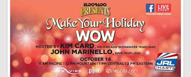 Sex Toys - Eldorado Presents Make Your Holiday WOW Facebook Event