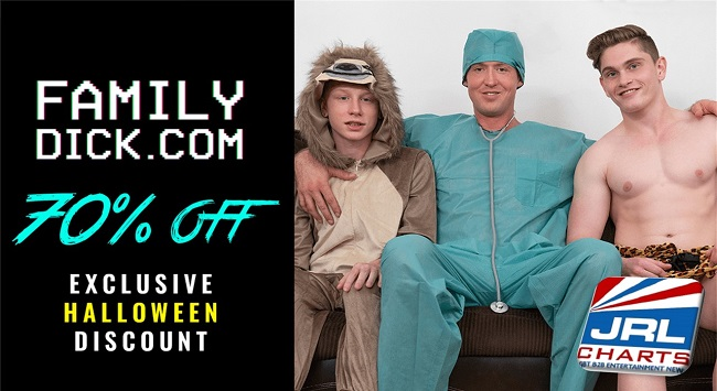 Family Dick Celebrates Halloween With a 70 Percent Discount