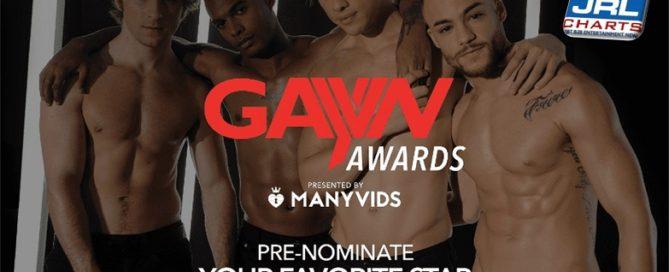 gay porn stars - GayVN Awards 2020 Gay Porn Stars Pre-Noms Now Open