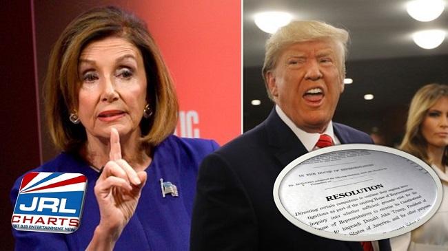 politics - House of Representatives Unveil Resolution to Impeach Trump