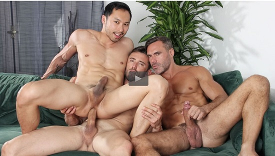 gay porn - Hungry Hole- gay-porn-trailer-Gian Rey-Maneul Skye-Marcos Oliveira-Kristen Bjorn