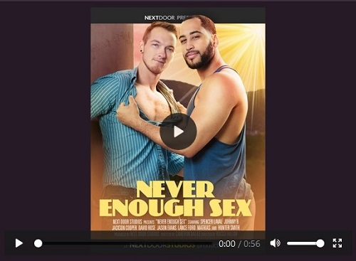 gay-porn-Never Enough Sex - Gay-Porn-Trailer