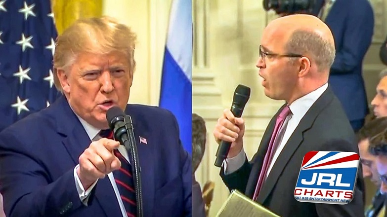 Gay News Politics - President Trump Meltdown with Reuters Reporter over Ukraine Goes Viral