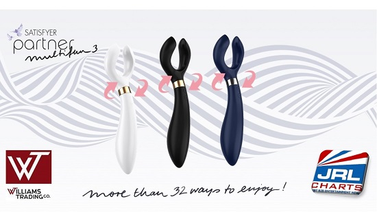 Satisfyer Multifun 3 line available at Williams Trading Company