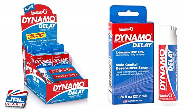 Screaming O Dynamo Delay Spray Expand in Retail Stores