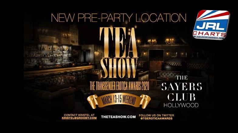 Gay News - TEAs Award Show 2020 New Pre-Party Venue Announced