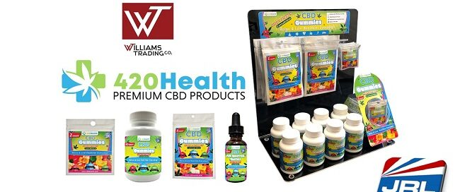Williams Trading Company adds Body Action 420 Health with Special Display Offer