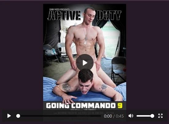 going commando 9 DVD-gay-porn-trailer-active-duty
