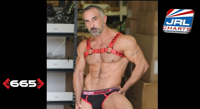 665 Leather Unveil Its 'Streamline Bulldog Flame Red Harness'