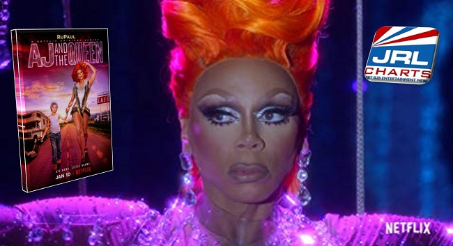 new tv series - AJ and The Queen - RuPaul Is Ruby Red - Netflix Comedy Series
