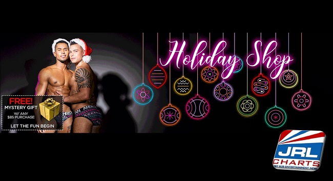 Andrew Christian Apparel Unveil Holiday Sale with Mystery Gift
