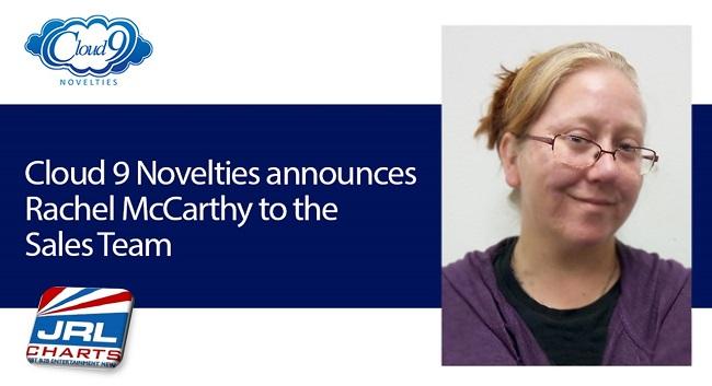 Cloud 9 Novelties Appoints Rachel McCarthy to Sales Team