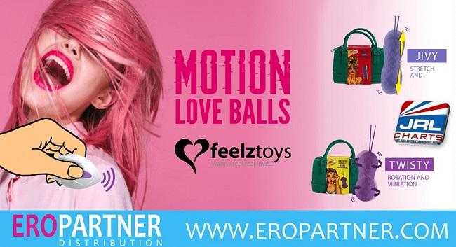 Eropartner ships Feelztoys' Remote Control Motion Love Balls