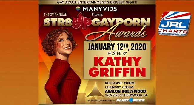 Kathy Griffin Confirmed to Host Str8Up Gay Porn Awards