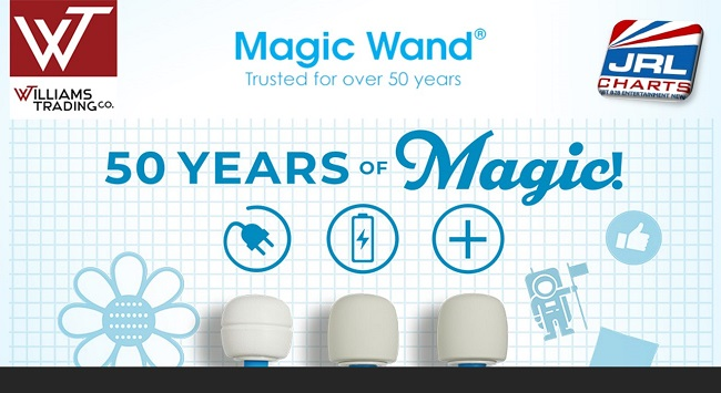 women sex toys - Magic Wand Products now shipping at Williams Trading Co.