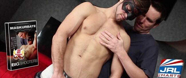 str8 gay porn - Maskurbater Leaks Big Shooters DVD - Gabriel Clark