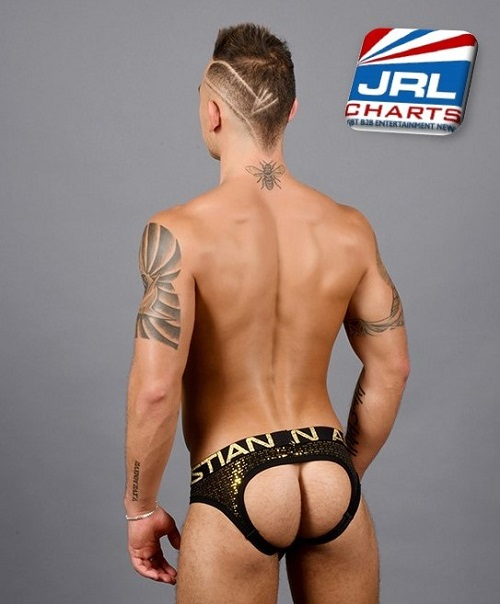 Nightlife Sparkle Locker Room Jock with Almost Naked