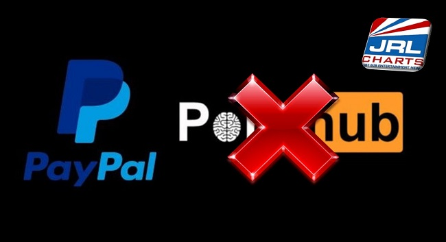 PayPal Cuts Off 100K Pornhub Performers Payment Processing
