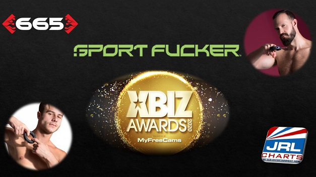 male sex toys - Sport Fucker Nominated for the 2020 XBIZ Awards
