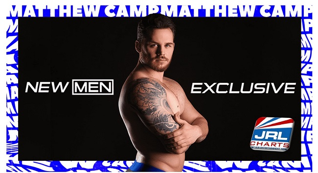 gay porn stars - Superstar Matthew Camp Signs Exclusive Contract with Men