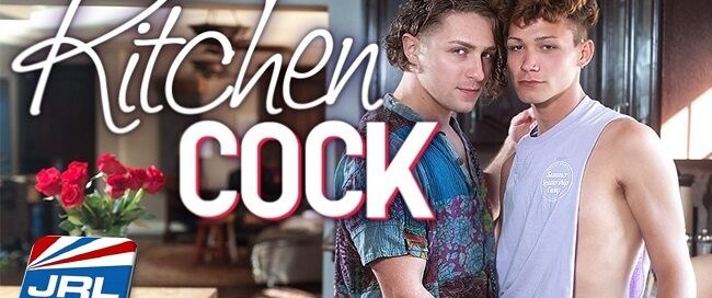 gay-porn - Watch Calvin Banks, Hayden Lee in premier of Kitchen Cock