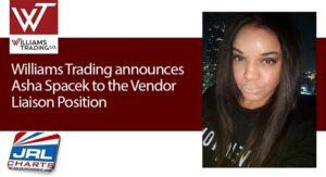 Williams Trading names Asha Spacek as Vendor Liaison Position