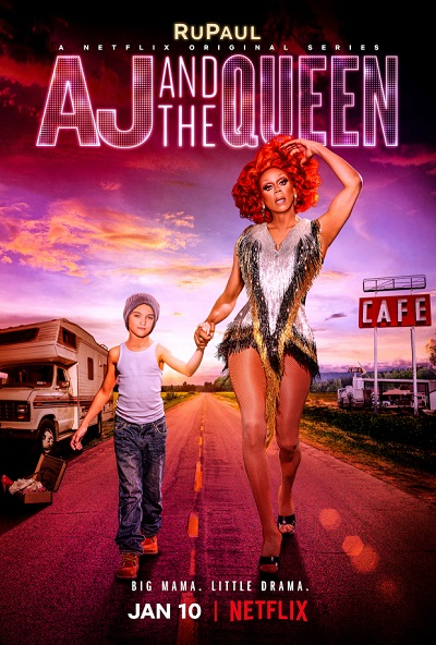 new tv series - aj-and-the-queen-poster-rupaul-netflix-2020