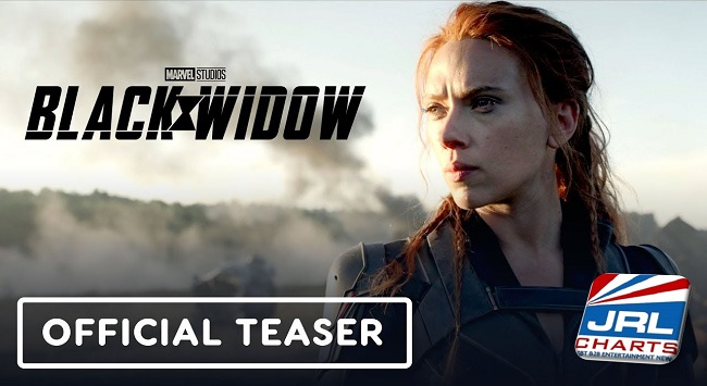 Black Widow Official Trailer debuts with 7 Million Views