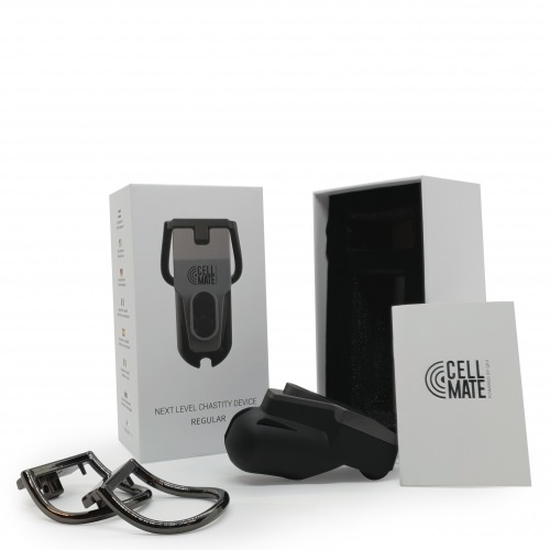 new male sex toys - CellMate App-Controlled Chsatity Device-665 Inc (2)