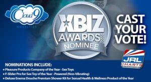 sex toys awards - Cloud 9 Novelties scores 3 XBIZ Awards 2020 Nominations
