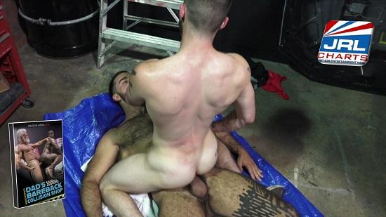 gay porn - Dragon Media - Rocco Steele's Dad's Bareback Collision Shop