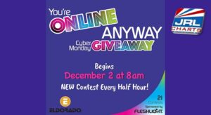 Fleshlight presents Eldorado Cyber Monday Facebook Giveaway