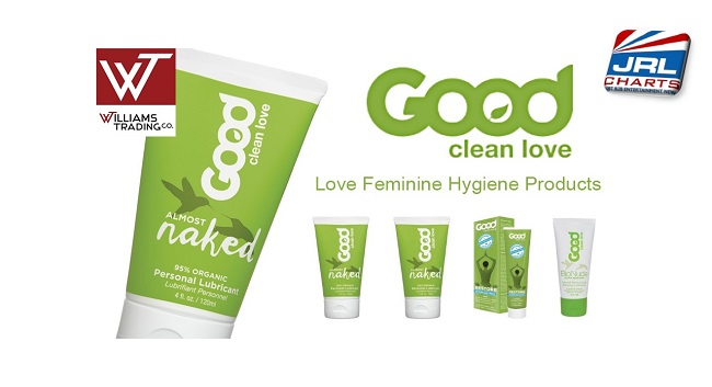 Good Clean LoveⓇ Products Added to Williams Trading Co.