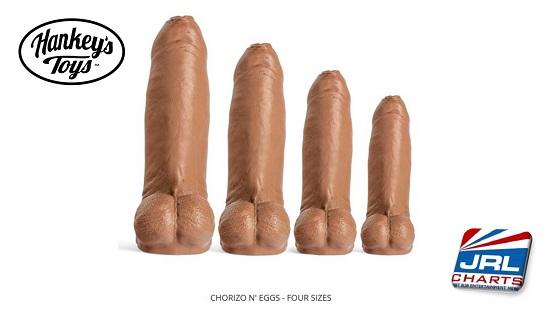 male sex toys - Hankey's Toys -Chorizo n' Eggs - Four Sizes