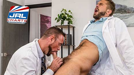 free gay porn - Icon-Male-The-Doctor-Is-In-Me-Scene-One-Wesley-Woods-and-Michael-Roman
