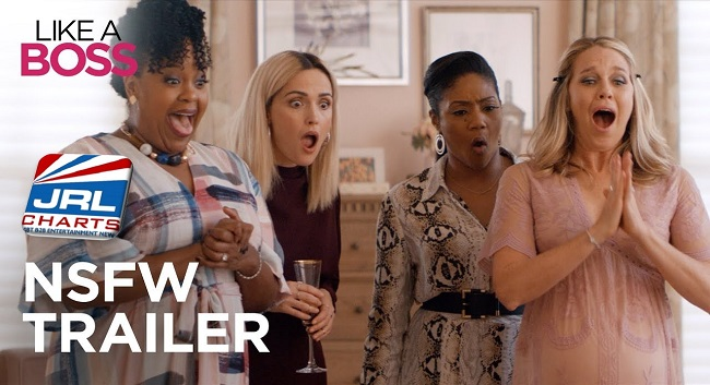 coming soon movies - Like A Boss NSFW Trailer starring Tiffany Haddish Is Here