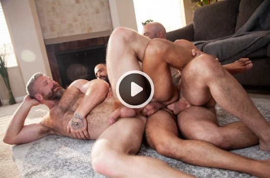 raw gay porn - Loaded Give It to Me Raw - Drew Sebastian, Cain Marko, Edji Da Silva