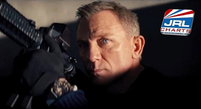 coming soon movies - No Time to Die Trailer Drops - Daniel Craig, Lashana Lynch