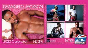 gay porn stars - Noir Male Star DeAngelo Jackson 2020 Calendar